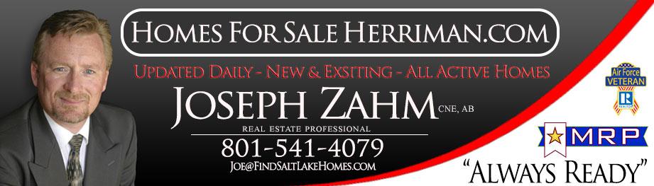 Herriman City Homes for Sale Utah 84096 Joseph Zahm